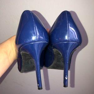 dexflex comfort Shoes - Dexflex Comfort Karmichael Blue 9.5 peep toe heel
